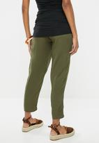 Cherry Melon - Maternity Soft casual pants - green