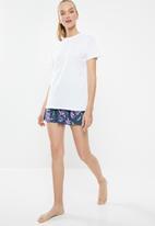 Superbalist - Sleep tee & shorts set - multi