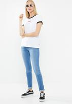 Levi's® - The perfect ringer baby tee - white