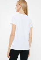 Levi's® - The perfect tee colourful stripe - white