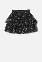 Cotton On - Trixiebelle tulle skirt - black