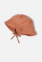 Cotton On - Kids bucket hat - orange