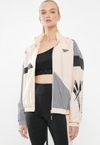 Reebok - Classic track jacket - pink & black