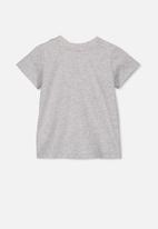Cotton On - Jamie short sleeve tee - grey