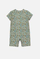 Cotton On - The short sleeve romper - green
