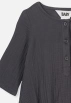 Cotton On - Ethan long sleeve bubbysuit - grey