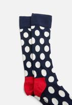 Happy Socks - Dot socks - navy