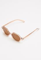 Superbalist - Bryt sunglasses - peach