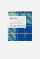 Too Cool For School - Check jelly eyes #S05 Fudge Brown