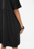 Superbalist - Babydoll dress - black