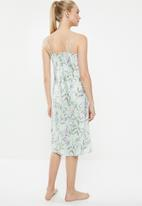 Superbalist - Printed nightie - green