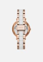 Fossil - Jacqueline - rose gold & white