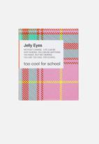 Too Cool For School - Check jelly eyes #M01 Peach Jello