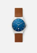 Skagen - Grenen - brown & blue