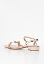 edit - Katie slingback sandal - rose gold