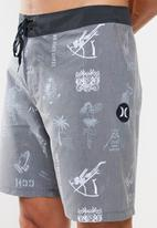 "Hurley - Passport 18""shorts - black"