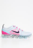 Nike - Air Vapormax 2019 - football grey / obsidian-pink blast
