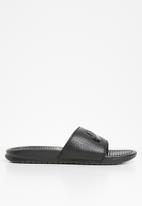 "Nike - Nike Benassi ""just do it."" sandal - black"