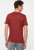 Superbalist - Plain short sleeve 3 pack henley tees - multi