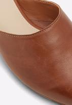 ALDO - Afiliclya leather mule - dark brown