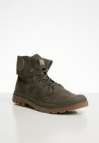 Palladium - Pallabrouse bgy wax boots - major brown/mid gum