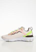 Nike - React Element 55 premium - light soft pink / atmosphere grey
