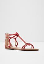 ALDO - Piawen sandal - red