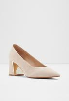 ALDO - Sevilassa leather heel - neutral