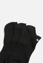 Nike - Everyday cushion no show socks - black