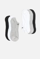 Nike - Everyday cushion no show socks - multi