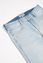 POLO - Boys brett denim jogger - blue