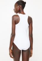Superbalist - 2 Pack rib bodysuit - black & white