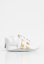 shooshoos - Pot of gold sneaker - white & gold
