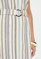 edit - Linen shirt dress - multi