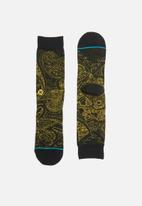 Stance Socks - Verdana socks - black & yellow