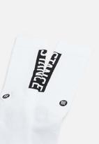 Stance Socks - Og socks - white & black