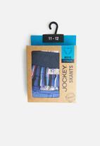 Jockey - Boys 3pack fancy skants - navy & blue