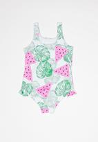 POP CANDY - Girls printed full piece swimsuit - multi