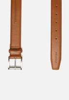Pringle - Byron leather belt - tan