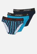 Jockey - Boys 3pack plain jockey brief
