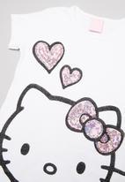 Hello Kitty - Hello Kitty sequin t-shirt - white