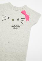 Hello Kitty - Sweatshirt romper - grey