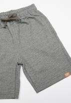 Quimby - Sweat bermuda - grey