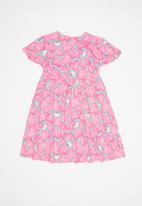 Hello Kitty - Single jersey dress - multi
