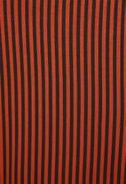 Superbalist - Knit jumpsuit - red & black