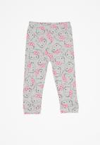 Hello Kitty - Soft jersey cotton pants - multi