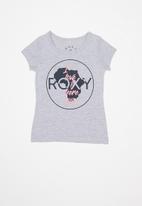 Roxy - Circle for africa winter destination girls - grey