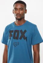 Fox - Bolt x short sleeve tee - blue