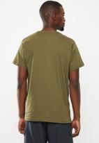 Fox - Leeward short sleeve tee - khaki