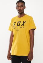 Fox - Race short sleeve tee - yellow